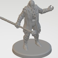 Download free 3D printing templates Old wizard, francochiacchio