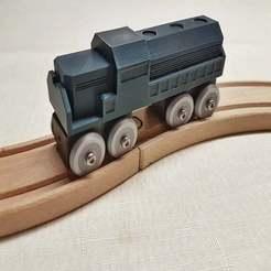 20200107_204833-01.jpeg Télécharger fichier 3MF gratuit Train miniature compatible BRIO / IKEA • Modèle pour imprimante 3D, danielschweinert