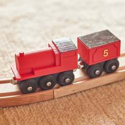 2020_06_19_0003.jpg Download free 3MF file James Toy train Thomas (BRIO / IKEA compatible) • Model to 3D print, danielschweinert