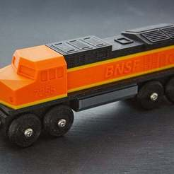 2020_02_08_0039.jpg Download free 3MF file Toy Train BNSF locomotive BRIO / IKEA compatible • 3D printer model, danielschweinert