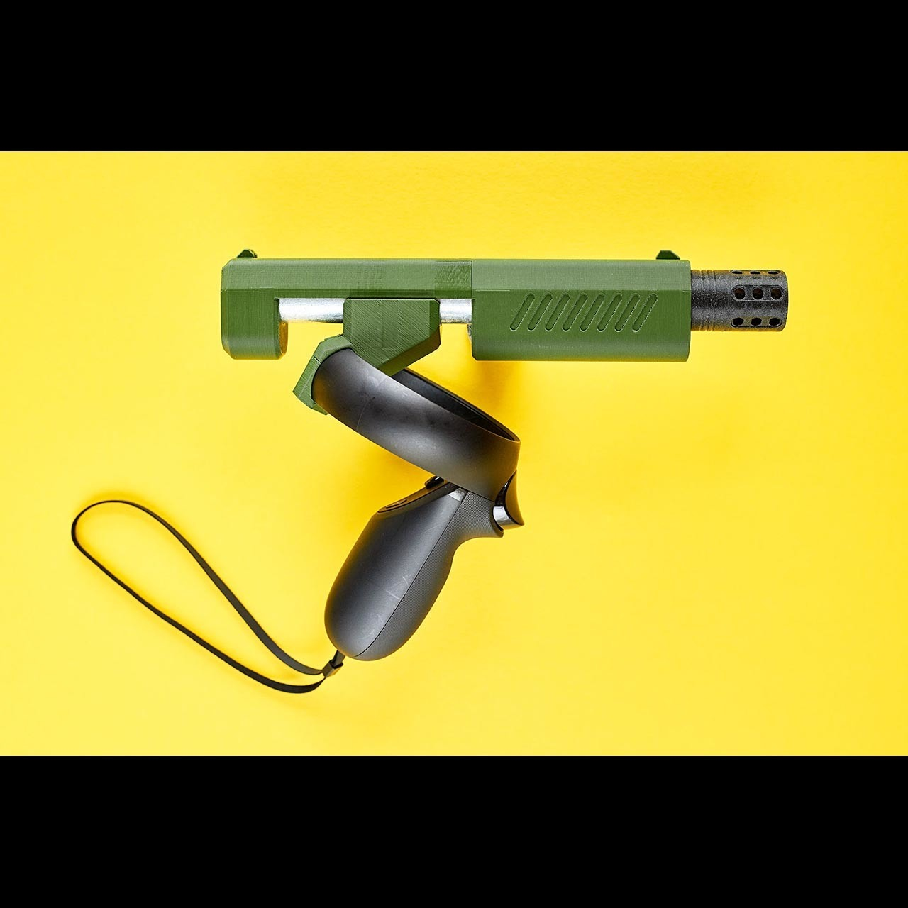 pistol_vr_001.jpg Download free STL file PISTOL VR magnetic gunstock Oculus Rift-S Quest • 3D printer template, danielschweinert
