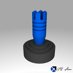 rendu-1.png Download free STL file Stick Drone XBOX Controller (clips) • 3D printable model, VBAero