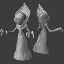 flatwood_monster.png Download STL file FLATWOOD MONSTER • 3D printing template, sebastianwoszczyk