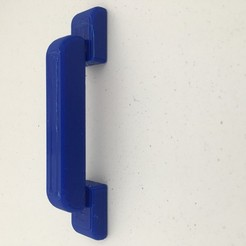 IMG_0910.JPG Download STL file Drawer handle • 3D print design, IV3D