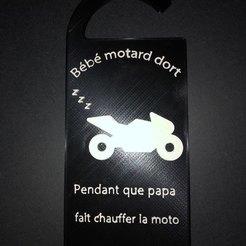 Download 3D model Bébé motard dort, Leopr1nt