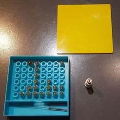 20191204_223755.jpg Télécharger fichier STL gratuit M6 Nozzles box (Boite de rangement de buses M6) • Objet pour imprimante 3D, Aerotronic