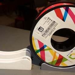 20180923_211928.jpg Télécharger fichier STL gratuit Spool Holder for 140mm spools, Remix of TUSH (Support de bobine 140mm) • Modèle pour impression 3D, Aerotronic