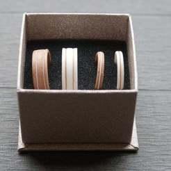 IMG_1186.JPG Télécharger fichier STL gratuit Alliances de Mariage (Wedding Rings) • Modèle pour imprimante 3D, Aerotronic