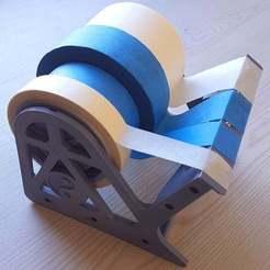 Download STL file Multiple Tape Dispenser (Distributeur d'adhésifs multi-formats) • 3D printer template, Aerotronic