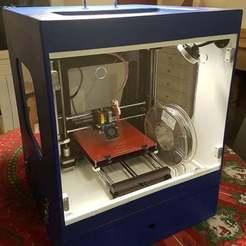 I3_Enclosure_1.jpg Download free STL file Geeetech Prusa I3 Pro B Cabinet (Caisse de protection et transport) • 3D print design, Aerotronic
