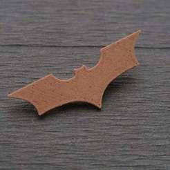 IMG_1190.JPG Download free STL file Batman Badge • Template to 3D print, Aerotronic