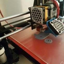 Capture3.jpg Télécharger fichier STL gratuit Conduit de ventilation pour Geeetech Prusa I3 Pro B (Conduit de Ventilateur) • Plan pour imprimante 3D, Aerotronic