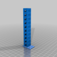 Download free GCODE file Temp Tower / Tour de température PLA • 3D printable model, Aerotronic