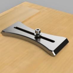 Clamp.png Télécharger fichier STL gratuit Pince à matériaux pour CNC (Clamp for little CNC milling machine) • Plan à imprimer en 3D, Aerotronic