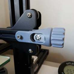 Tendeur_X.jpg Télécharger fichier STL gratuit CR-10 S X axis Tensioner (Tendeur de courroie Axe des X) • Design pour imprimante 3D, Aerotronic