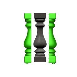 Télécharger fichier STL MOULE BALUSTRE • Design pour impression 3D, aleplanascadogan