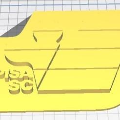 Télécharger objet 3D gratuit Pisa SC 1909 logo 1983/1988, franz77
