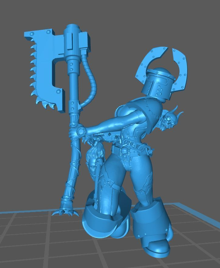 War_Whore_4.JPG Download free STL file War-Whore #4 • Object to 3D print, jeffwrbelis