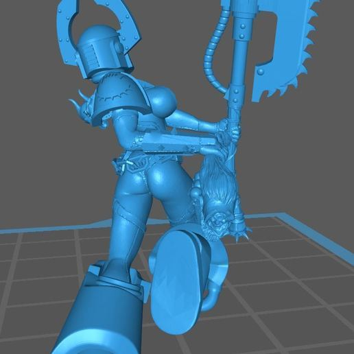 War_Whore_4_rear.JPG Download free STL file War-Whore #4 • Object to 3D print, jeffwrbelis