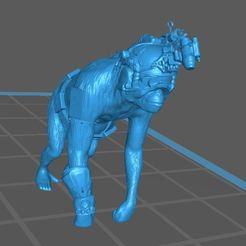 Space Monkey Technician.JPG Download free STL file Space monkey Technician • Design to 3D print, jeffwrbelis
