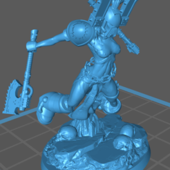 Kharen.png Download free STL file Khâren the Betrayed • 3D printing model, jeffwrbelis