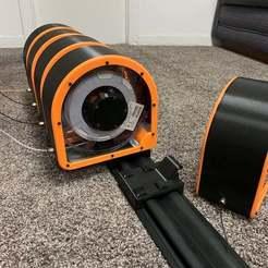 D25FC5EA-74D5-4915-939E-75E68F7F7C01.jpeg Download free STL file Spannerhands Spool System MK6 - Wide Kobalt K-Rail Mounting Bracket • 3D printer model, Xuis
