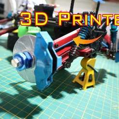Download free 3D printer designs Upper arm rc car, alihoshyar89