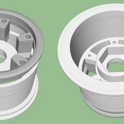 Download free STL file 1:10 Scale Beadlock Wheels • 3D printable template, alihoshyar89