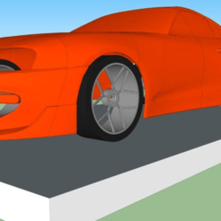 Download free STL file TOYOTA Supra body • 3D printing object, alihoshyar89