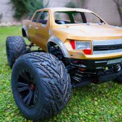 Download free STL file Ford Raptor Body • Design to 3D print, alihoshyar89