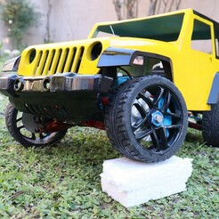 IMG_2737.JPG Download STL file 10th scale Jeep Wrangler  • 3D printing design, ScaleAddiction