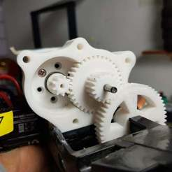 20200929_0ht02040.jpg Download free STL file Gearbox 7.7-1 Ratio • 3D printing object, alihoshyar89