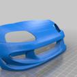 Télécharger fichier STL gratuit Carrosserie de la Toyota Supra à l'échelle 1:10 • Objet imprimable en 3D, alihoshyar89