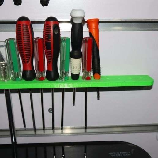 Download free STL file screwdriver holder • 3D print template, alihoshyar89