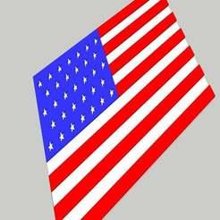 usa_flag.jpg Download free STL file United states of America Flag • 3D printer design, alihoshyar89