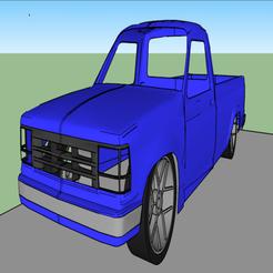 Télécharger fichier STL gratuit Ford Ranger 1990 • Objet pour imprimante 3D, alihoshyar89