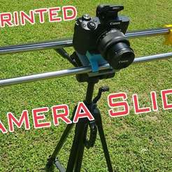 Download free STL file Camera Slider, DIY • Template to 3D print, alihoshyar89