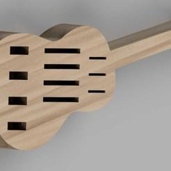 usb_guitarra_3.jpg Télécharger fichier STL guitare usb • Plan à imprimer en 3D, bricojcm