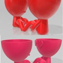 RPENAMORADOS4.png Télécharger fichier STL ROBERT PLANT IN LOVE • Plan imprimable en 3D, DANEST
