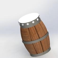 barril.JPG Télécharger fichier STL gratuit BARRETTE DE STOCKAGE • Modèle à imprimer en 3D, DANEST