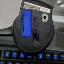 20190801_143249.jpg Télécharger fichier STL gratuit Remplacement du couvercle de la batterie Eco600 par un gigaoctet • Objet imprimable en 3D, Bearlord