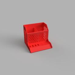 front.png Descargar archivo STL gratis organizador de la mesa del oso • Modelo imprimible en 3D, Bearlord