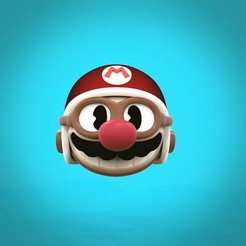 Mario.jpeg Download STL file Super Mario keychain old cartoon style • 3D printable template, 3dmaniasculpts