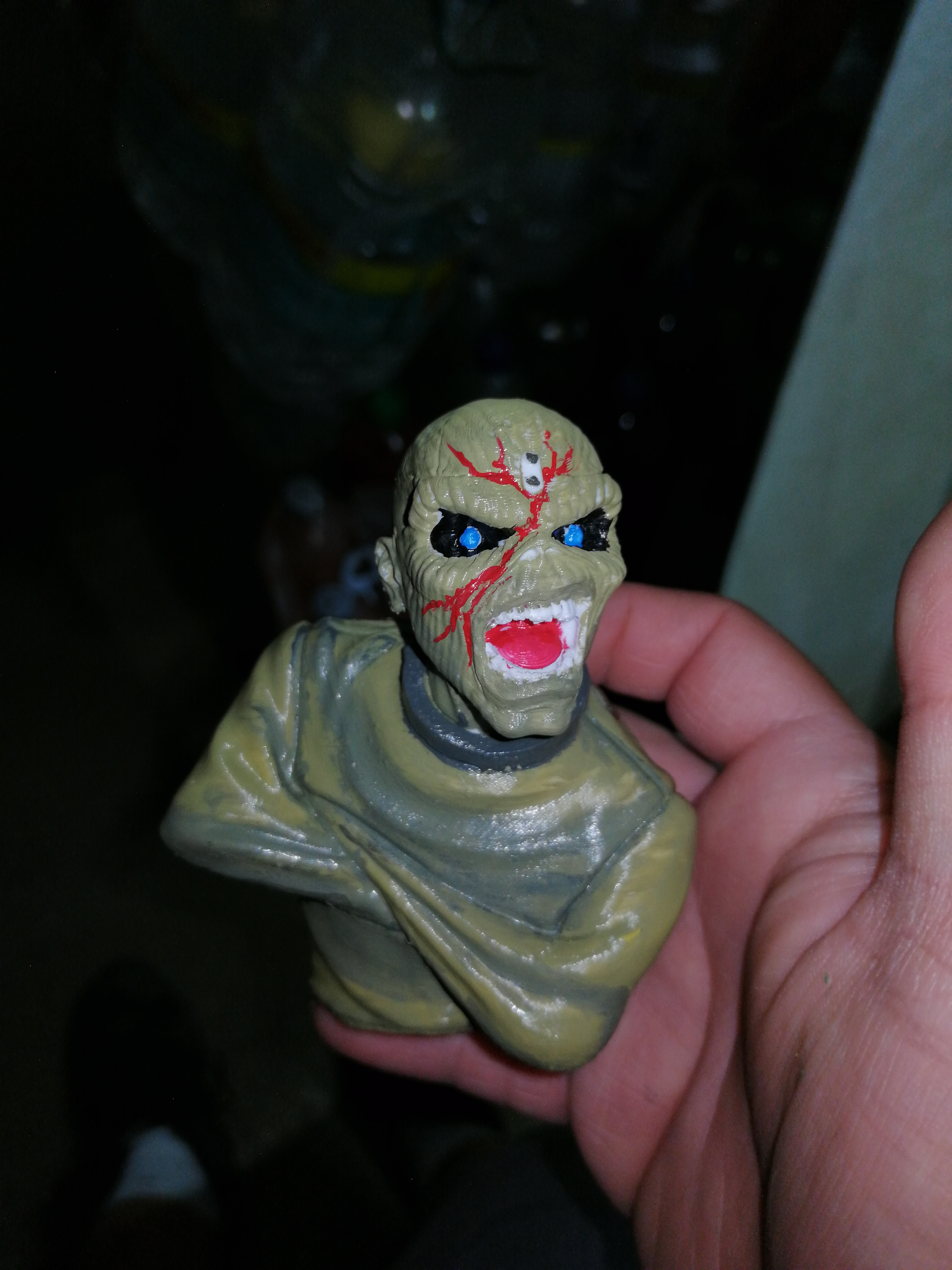 Download STL file Eddie - Piece of Mind [Iron Maiden] • 3D print design, maikelalexanderacevedo