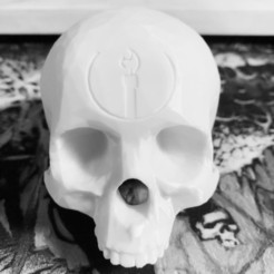 Download 3D printing templates Halo Grunt Birthday Skull , SplinterPrintz