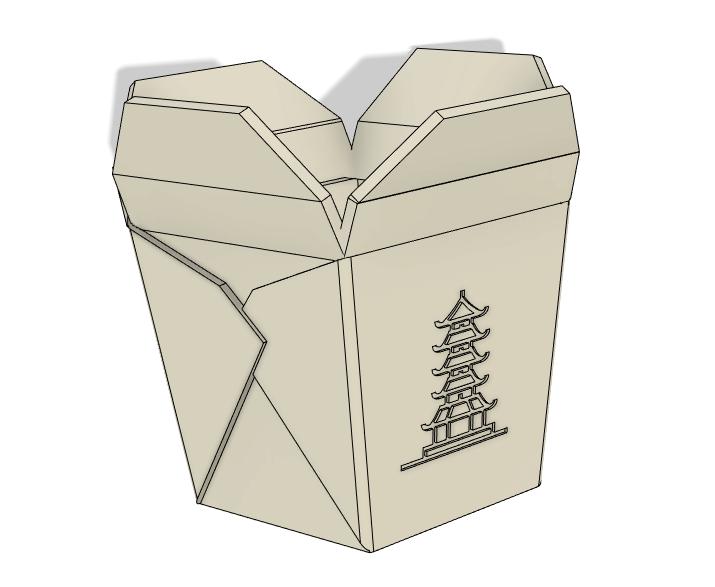 img1.png Télécharger fichier STL Boîte à emporter chinoise, succulent PLANTER • Design imprimable en 3D, nachitox