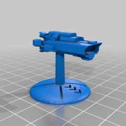 Alliance_Kite_Small_Ship_32mmBase_Gothic_.png Download free STL file Warfleets: FTL Alliance Kite Light Ship (Gothic Scale) • 3D printer design, cardozamg