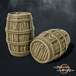 barrels.jpg Download free STL file Barrels • 3D print object, The-Printing-Goes-Ever-On