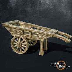 cart.jpg Download free STL file Wooden Cart • 3D printer design, The-Printing-Goes-Ever-On