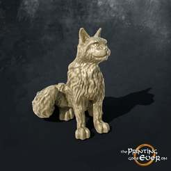 cat.jpg Download free STL file Cat sitting • 3D printing model, The-Printing-Goes-Ever-On